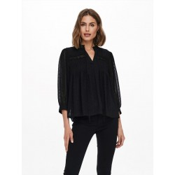 TOP MANCHES LONGUES DONNA